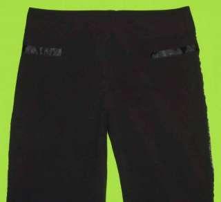 MKM Designs sz 9 10 Juniors Womens Black Dress Pants Slacks 6E12