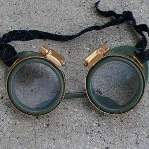 Goggles Glasses lens Victorian biker pirate Aviator motorcycle