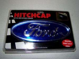 Ford Logo Hitch Cover for 2 or 1.25 Recievers