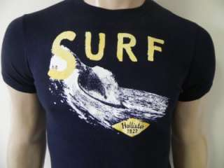 New Hollister Hco.Mens Muscle/Slim Fit Graphic Tee Shirt