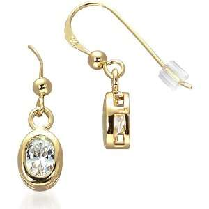 Dazzling and Chic Gold vermeil Dangling Earring with