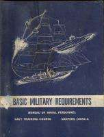 1961 US Navy Manual Requirements Military Book Asbestos Suit OBA Fire