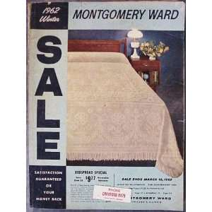 1962 WINTER MONTGOMERY WARD CATALOG Various, Illustrated