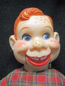 12 Howdy Doody Ventriloquist Doll Pull String and His Mouth Moves