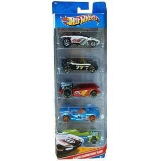 Hot Wheels 5 Car Gift Pack   4 Lane Elimination Race (T8634)