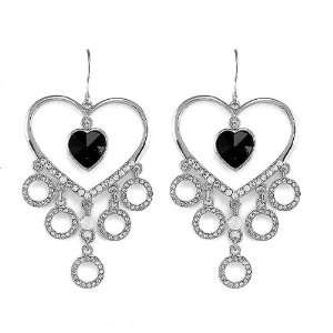 Perfect Gift   High Quality Enchanting Heart Earrings with