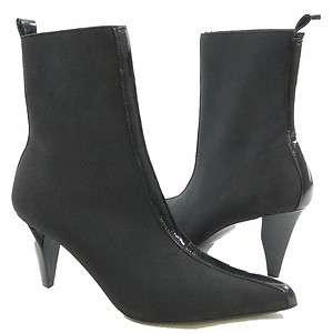 Kenneth Cole New York Sleek Street Womens Ankle Boots Black 7.5