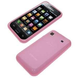 Modern Tech Pink Gel Skin/ Case For Samsung i9000 Galaxy S