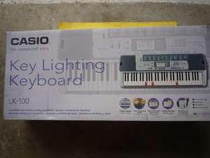 Casio LK 100 Lighted Keyboard HEAVY SCRATCHES SEE PICTURES