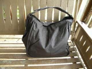 Avon Mark Large Big Impact Hand Bag Purse Dark Brown New 094000606911