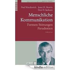Menschliche Kommunikation (German Edition) Paul Watzlawick, Janet H