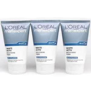 LOreal Men Expert White Active Brightening Foam (100ml