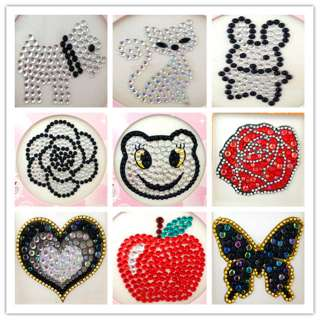 Bling Rhinestone Decals Stickers For Cell phone iPhone iPod PC