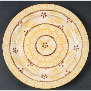 Temp Tations Old World Yellow Salad Plate, Fine China Dinnerware