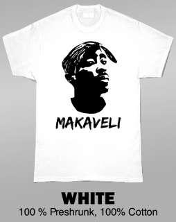 Makaveli Tupac Hip Hop Music T Shirt