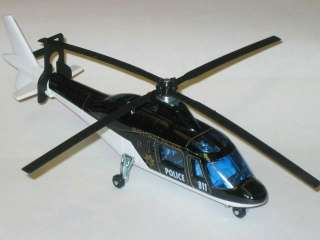 Majorette Highway Patrol Agusta 109 Helicopter 1/60