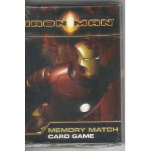 Iron Man Memory Match Card Game Toys & Games