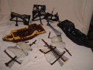 Huge Lego Lot Jabbas Sail Barge Pirate Ships/Castle