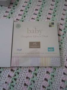 BNIB BABY KEEPSAKE WENDY BELLISSIMO SCRAPBOOK RARE SET BOY OR GIRL