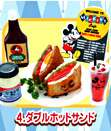 Miniature Re ment Disney Mickey Mouse 50 s Cafe   Set of 10