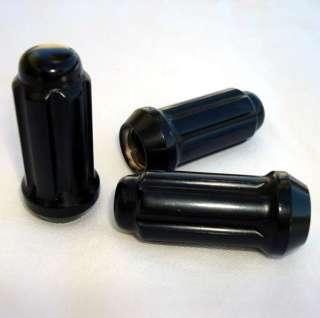 Black Spline Lug Nut Install Kit 8 Lug & Stems Locking