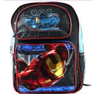 Marvel Iron Man 2 War Machine Large School BackPack