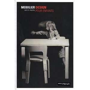 mobilier design pour enfants (9782918730002): Carole