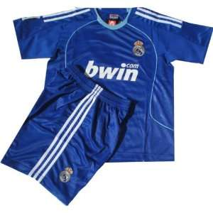 SPAIN Real Madrid (Jersey & Short)Blue Kids sizes only.