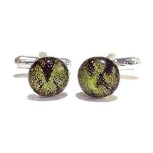 The Black Cat Jewellery Store Dragon Skin Dichroic Glass