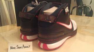 NEW Nike Zoom Lebron VI 6 Miami Heat sz 10 air galaxy 9 Black/Red