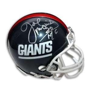 Joe Morris Autographed Mini Helmet   Giants  Sports