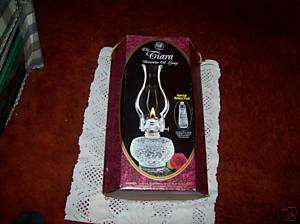 WONDERFUL LAMPLIGHT FARMS THE TIARA DECORATOR OIL LAMP
