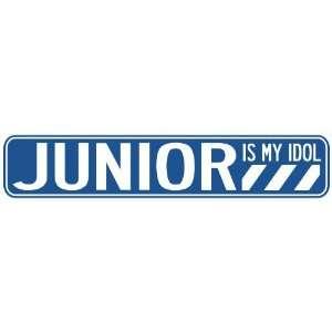 JUNIOR IS MY IDOL STREET SIGN