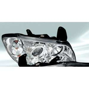 00 03 Nissan Maxima Halo Projector Headlights   Chrome