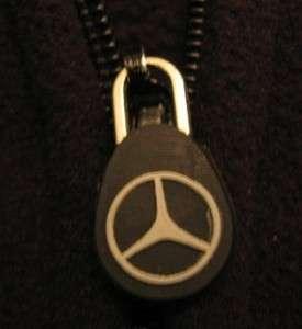 Mens Mercedes Benz Black Jacket S Small Excellent