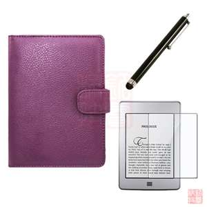 Case Cover+Stylus+Screen Protector for  Kindle Touch 2011