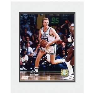Photo File Boston Celtics Larry Bird Looking to Pass Matted Photo