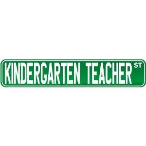 New  Kindergarten Teacher Street Sign Signs  Street Sign