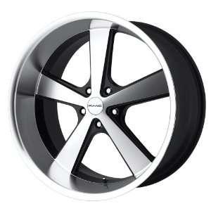 KMC Nova KM701 Gloss Black Wheel with Machined Face (20x8