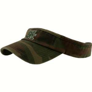Top of the World Kentucky Wildcats Camo Washed Cotton Adjustable Visor