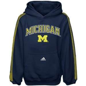 adidas Michigan Wolverines Preschool Navy Blue Game Day Hoody