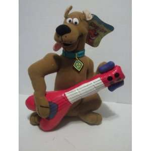 Rock and Roll Scooby Doo Plush 14 Bean Bag Plush Toys