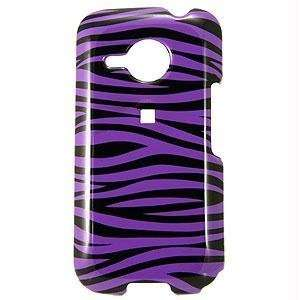 Icella FS HTDERIS D23 Purple Black Zebra Snap on Cover for