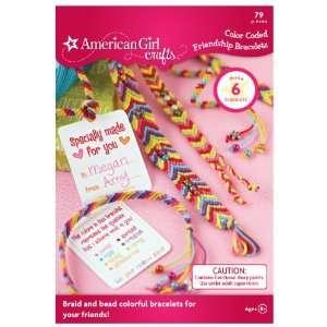 American Girl Crafts Color Coded Friendship Bracelet Kit Toys & Games