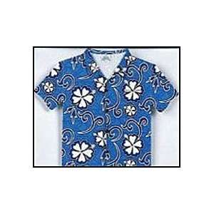 Hawaiian Greeting Card/Note Card   Aloha Shirt   Hisbiscus