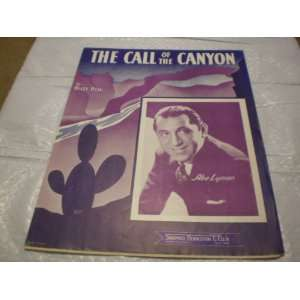 The Call of the Canyon Billy Hill Books