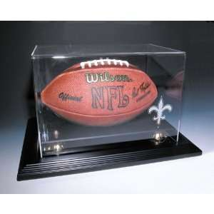 New Orleans Saints NFL Zenith Football Display Case