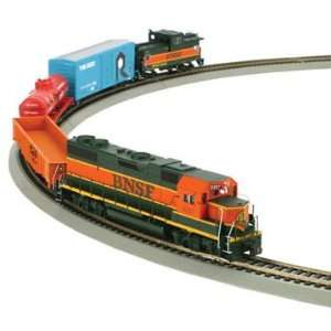 Athearn HO Scale Train Set Iron Horse Express BNSF Toys