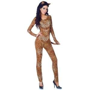 Lets Party By Underwraps Wild Leopard Print Adult Costume