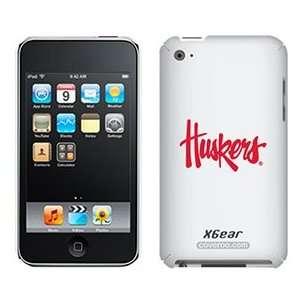 University of Nebraska Huskers on iPod Touch 4G XGear